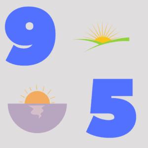 9-5 graphic