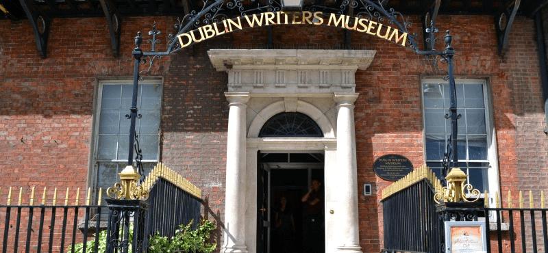 Outside Dublin Writer's Museum