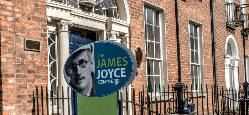 james joyce centre writers' worlds