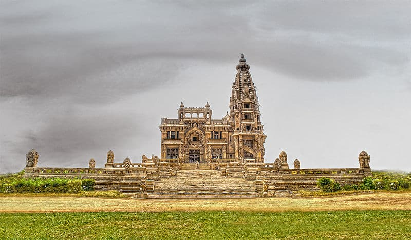 baron empain palace front view