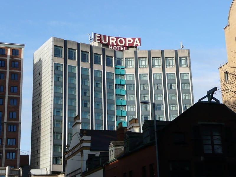 Modern day Europa Hotel