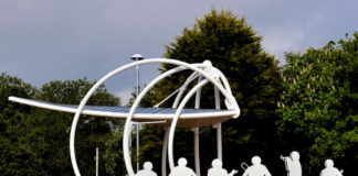 loughshore park bandstand