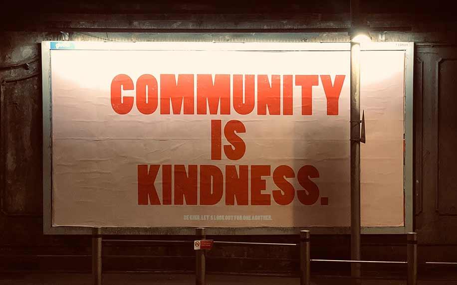 community kindness