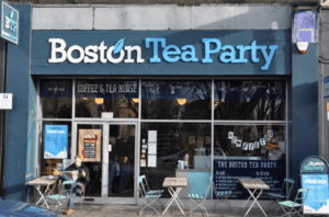 The store front of Boston Tea Party
