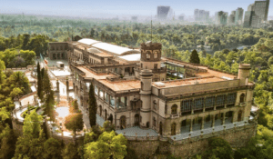 Castillo y Bosque de Chapultepec in Mexico