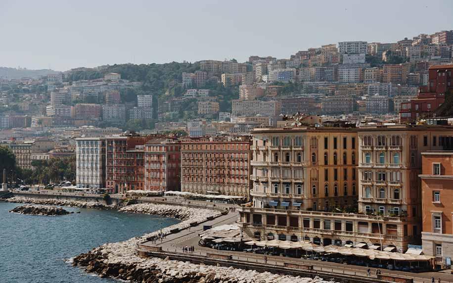 Naples sea