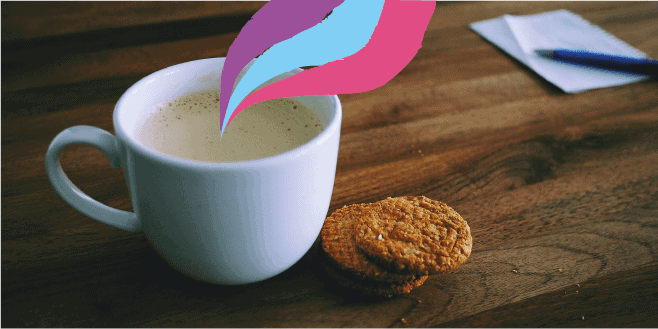 unwind with tea on blue monday
