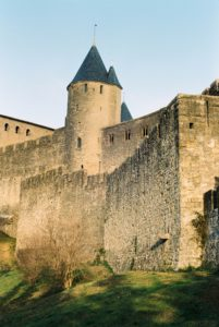 The City Walls of Carcassonne, France