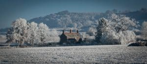 A house in the Shropshire countryside