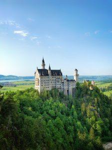 A photo of Neuschwanstein Castle in Germany