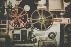 A photo of a cinematographers room