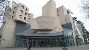 Exterior of the Cinémathèque Française