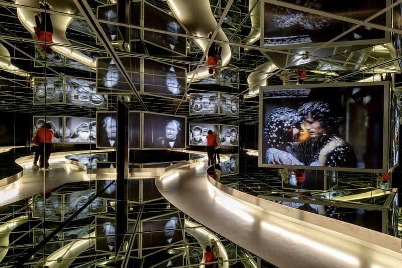 Interior of the Deutsches Filmmuseum