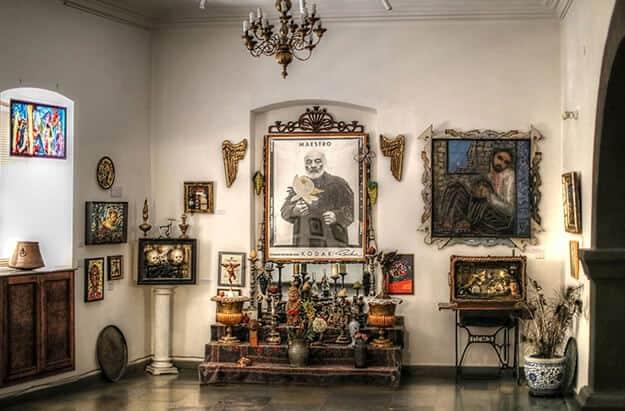 Interior of the Sergei Paradjanov Museum