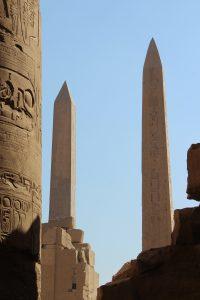 Pillars at Karnak Temple in Luxor