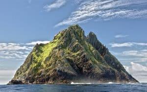 Skellig Michael is a stunning island off of Ireland