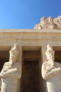 Statues of Pharaohs at Kunak Temple