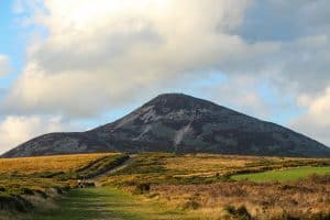 A stunning view of Sugarloaf Mountain