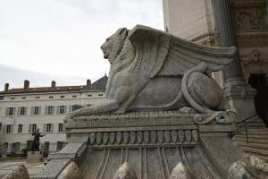The Lion of Judah in Lyon, France