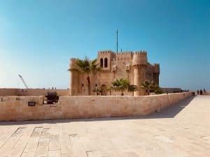 The Qaitbay Citadel in Alexandria, Egypt