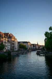 The beautiful scenery of Strasbourg City
