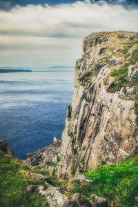 The coastline of Fair Head in Ballycastle