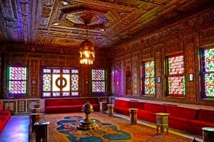 The reception Palace in Mohamed Ali Palace