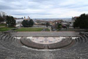 The stands of the Gallo-Roman Theatre