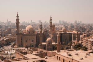 The stunning landscape of Ciaro, Egypt