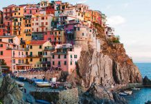 The Cliffs of Cinque Terre in Manarola in Italy - things to do in Italy