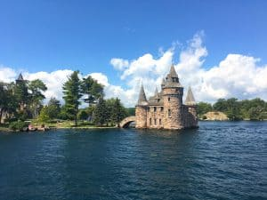 Boldt Castle in the Thousand Islands, New York state