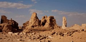 Dimeh al-Siba monuments in El Fayoum