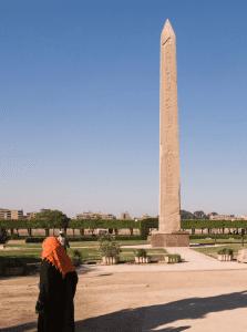 Obelisk of Senusret is a giant pillar set in the city of El Fayoum