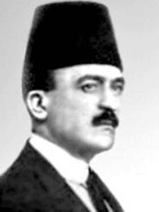 A portrait picture of Khahil al-Sakkakini, builder of Sakkakini Palace