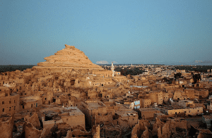 Views of Shali Castle in Siwa Oasis