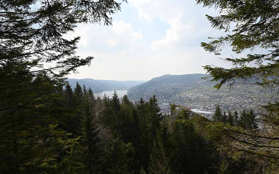 trails of Gérardmer