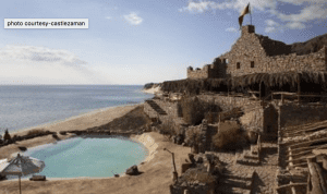 Castle Zaman located in Taba