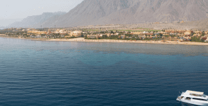 A view of the Red Sea in Taba Heights
