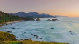 Cannon Beach at Ecola State Parkin the Pacific Northwest