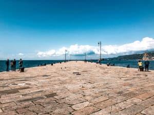 The Yolo Audace in Trieste