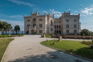 A gorgeous castle located in Trieste