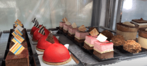 delectable treats at a cafe in Trieste