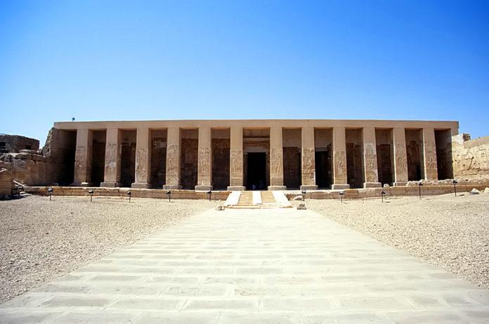 Abydos facade day