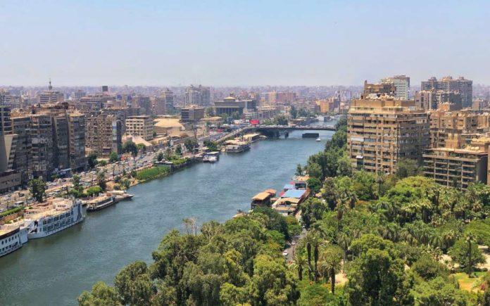 River Nile in Cairo