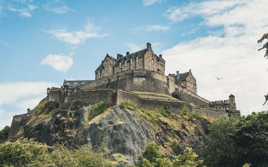 Biggest Castles Edinburgh