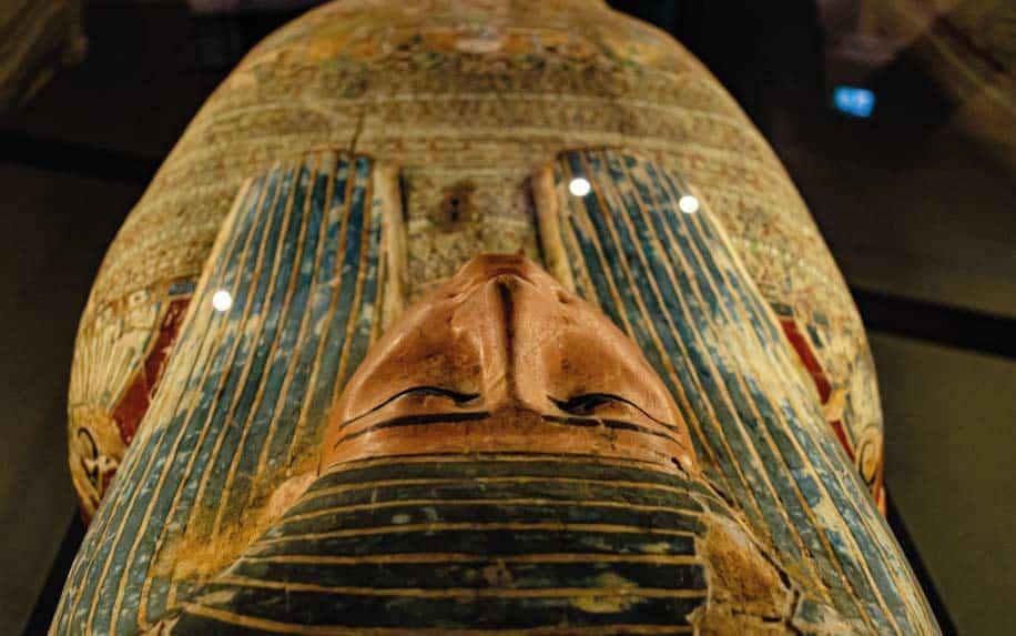 El Minya museum Egypt