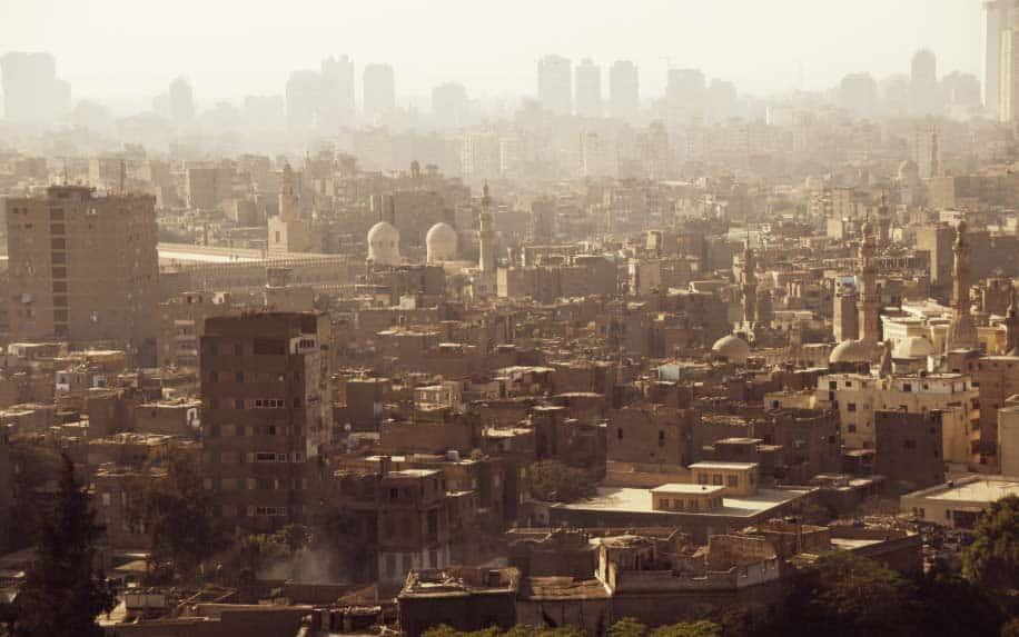 Ismailia skyline