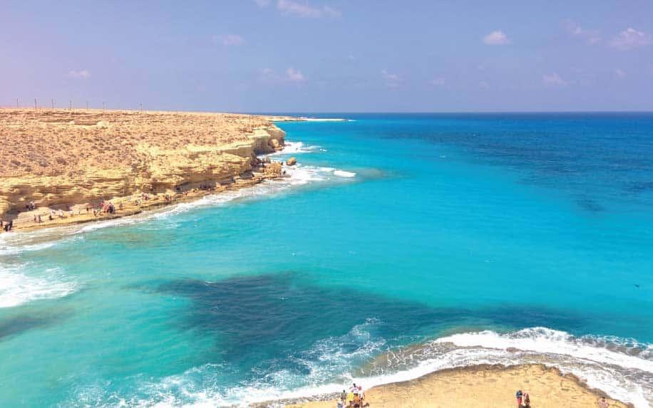 Marsa Matrouh beach