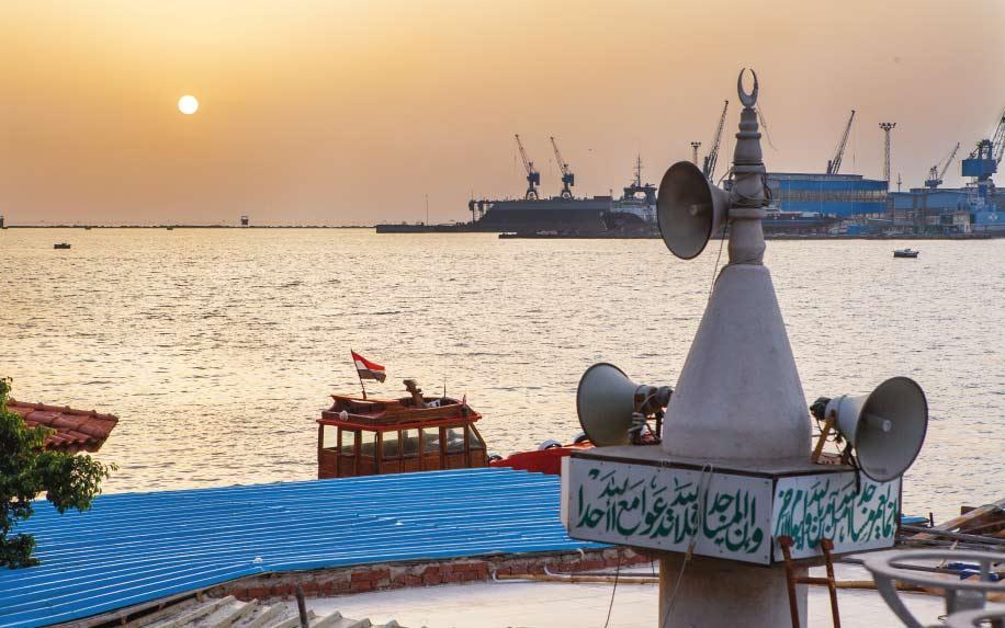 Port Said coast
