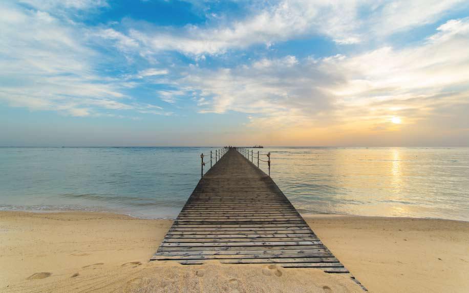 Summer destinations in Egypt Beach